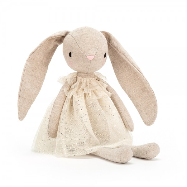 HASE JOLIE STOFFPUPPE STOFFTIER 30 CM