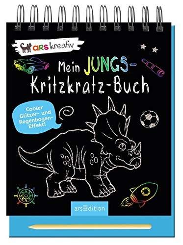 MEIN JUNGS KRITZKRATZ BUCH - AB 5 J.