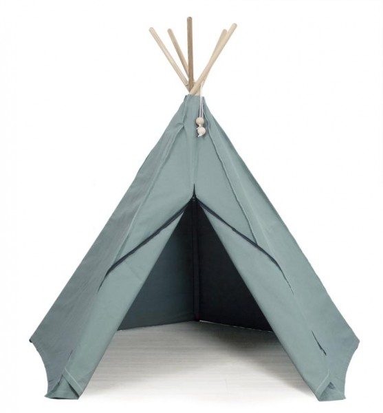 HIPPIE TIPI SPIELZELT IN SEA GREEN