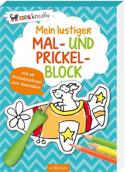 MEIN ERSTER MAL- UND PRICKELBLOCK - AB 4 J.