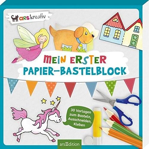 MEIN ERSTER PAPIER BASTELBLOCK - AB 3 J.