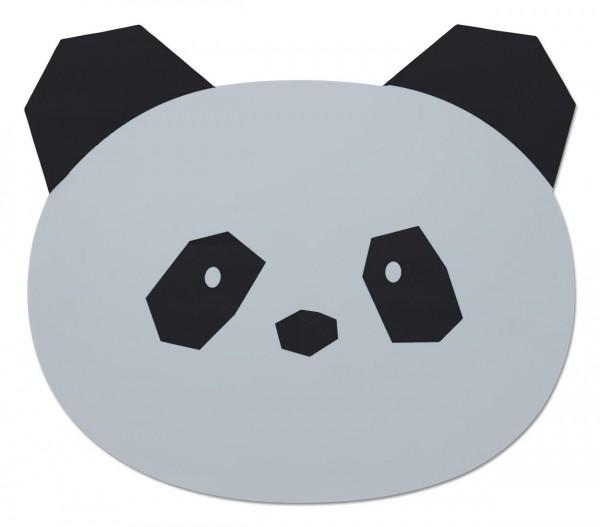 PLATZSET PANDA IN HELLGRAU